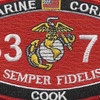 MOS 3371 Cook Patch | Center Detail
