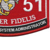 MOS 2651 Special Intelligence System Administrator Patch | Lower Right Quadrant