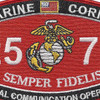 MOS 2575 Special Communication Operator Patch | Center Detail