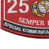 MOS 2575 Special Communication Operator Patch | Lower Left Quadrant