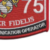 MOS 2575 Special Communication Operator Patch | Lower Right Quadrant