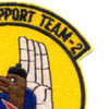 Mobile Support Team Two Patch Seal Support | Upper Right Quadrant