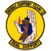Mobile Support Team Two Patch Seal Support