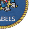 Mobile Construction Battalion Seabees Patch | Lower Right Quadrant