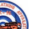 MK-16 Underwater Breathing Apparatus Mark 16 Patches | Upper Right Quadrant