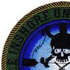 MIUWU-501 Naval Mobile Undersea Warfare Unit Five Zero One Patch   Upper Left Quadrant