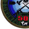 MIUWU-501 Naval Mobile Undersea Warfare Unit Five Zero One Patch   Lower Left Quadrant