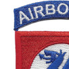 508th Airborne Infantry Regimental Combat Team Patch | Upper Left Quadrant