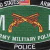 Military Police Military Occupational Specialty MOS Rating Patch Police | Center Detail