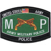 Military Police Military Occupational Specialty MOS Rating Patch Police