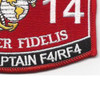 Military Occupational Specialty 6014 Plane Captain F4/Rf4 MOS Patch   Lower Right Quadrant