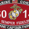 Military Occupational Specialty 6014 Plane Captain F4/Rf4 MOS Patch   Center Detail