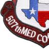 507th Medical Company Air Ambulance Dustoff Unit Patch   Lower Left Quadrant