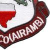 507th Medical Company Air Ambulance Dustoff Unit Patch   Lower Right Quadrant