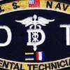 Medical Rating Dental Technician Patch | Center Detail