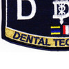 Medical Rating Dental Technician Patch | Lower Left Quadrant