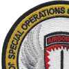 Joint Special Operations Command Patch Europe | Upper Left Quadrant