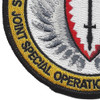 Joint Special Operations Command Patch Europe | Lower Left Quadrant