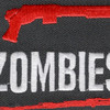 I Shotgun Zombies Patch Hook And Loop   Center Detail