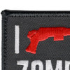 I Shotgun Zombies Patch Hook And Loop   Upper Left Quadrant