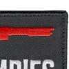 I Shotgun Zombies Patch Hook And Loop   Upper Right Quadrant