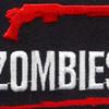 I Shotgun Zombies Patch | Center Detail
