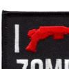 I Shotgun Zombies Patch | Upper Left Quadrant