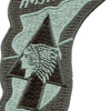 Imjin Scout DMZ Dark Subdued Patch | Center Detail