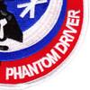 F-4 II Phantom Driver Patch   Lower Right Quadrant