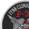 F-35-IT&E Climate Test Patch | Upper Left Quadrant