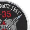 F-35-IT&E Climate Test Patch | Upper Right Quadrant