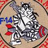 F-14 Patch Desert Storm Thief Of Baghdad | Center Detail