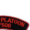 506th Airborne Infantry Regiment Patch Recon Platoon 3/506 - J Version   Upper Right Quadrant