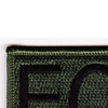 Explosive Ordnance Disposal Tab EOD OD Patch Hook And Loop | Upper Left Quadrant
