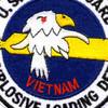 Explosive Loading Detachment Patch Vietnam | Center Detail