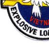 Explosive Loading Detachment Patch Vietnam | Lower Left Quadrant