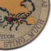 Expeditionary Medical Facility - Dallas Patch | Lower Right Quadrant