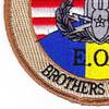 EOD Explosives Ordinance Disposal American Romanian Patch   Lower Left Quadrant