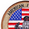 EOD Explosives Ordinance Disposal American Romanian Patch   Upper Left Quadrant
