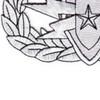 EOD Explosive Ordnance Disposal Senior Badge Silver Patch | Lower Left Quadrant