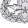 Eod Explosive Ordnance Disposal Master Badge Silver Patch | Lower Left Quadrant