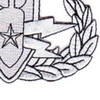Eod Explosive Ordnance Disposal Master Badge Silver Patch | Lower Right Quadrant