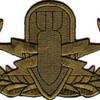 EOD Explosive Ordnance Disposal Basic Badge Subdued Patch   Center Detail