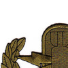 EOD Explosive Ordnance Disposal Basic Badge Subdued Patch   Upper Left Quadrant