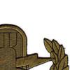 EOD Explosive Ordnance Disposal Basic Badge Subdued Patch   Upper Right Quadrant