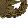 EOD Explosive Ordnance Disposal Basic Badge Subdued Patch   Lower Right Quadrant