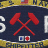 Engineering Rating Shipfitter Patch | Center Detail