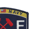 Engineering Rating Shipfitter Patch | Upper Right Quadrant