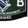 506th Airborne Infantry Regiment Military Occupational Specialty MOS Rating Patch 11 B Currahee   Lower Right Quadrant