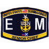 EMCS-SS Submarine Senior Chief Electrician's Mate Patch
